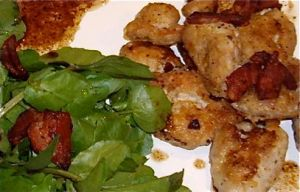 pan-fried sweetbreads